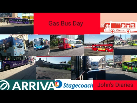 "John's diarys ""Gas Bus Day"""