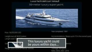 Luxury boats and yachts for sale - How much does a yacht cost? New and used boats and superyachts