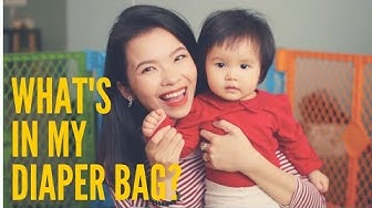 Có Gì Trong Túi Diệp? // What's In My Diaper Bag?   Loveat1stshine