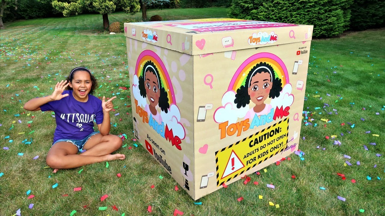 Giant Surprise Toy Box Toys Andme Youtube