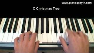 O Christmas Tree - Christmas Carol - Free Piano Sheet Music
