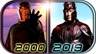 Evolution of Magneto in Movies (2000-2019) Magneto 2020 X-men Dark Phoenix Magneto Death scene 2019