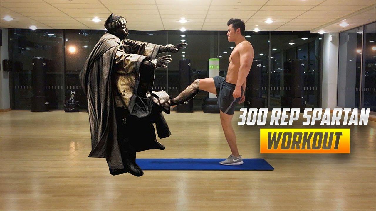 300 Rep Spartan Bodyweight Workout
