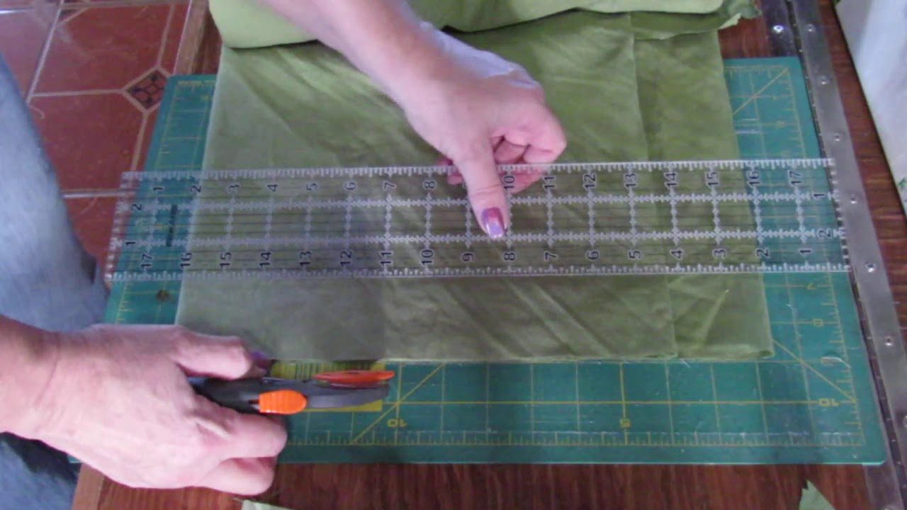Easy strip rag quilt tutorial