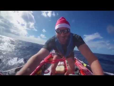 Auld Stock - Damien Browne - Rows across the Atlantic Ocean