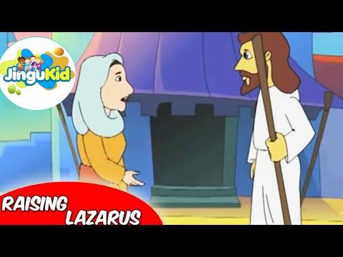 Best Bible stories for kids   Raising Lazarus   Animation   Preschool   Kids   Kindergarten