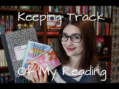 How I Keep Track of My Books/Reading Habits