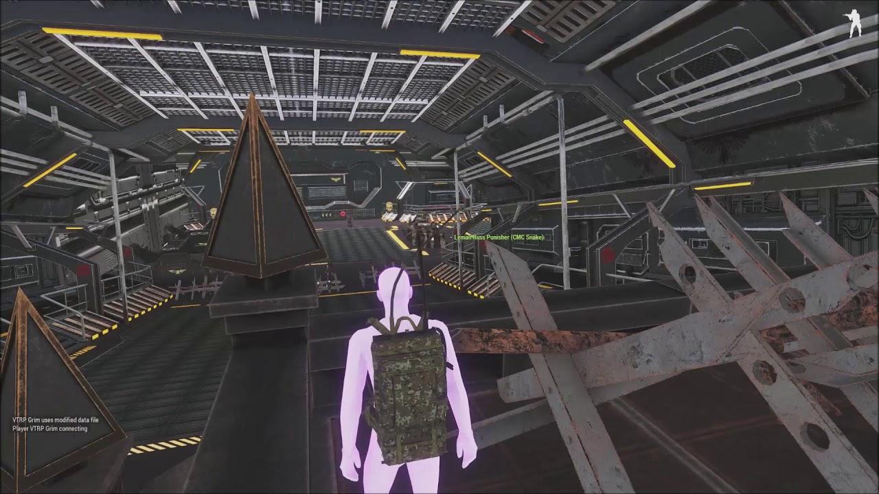 Warhammer 40: Arma 3 Zeus Portal Testing Behind the Scenes