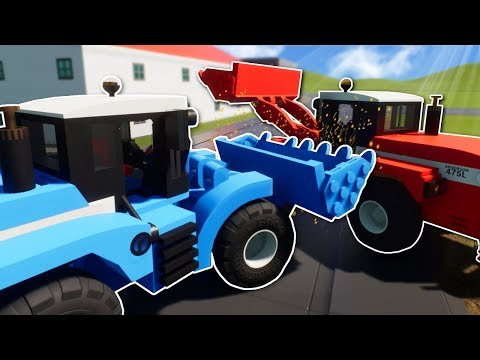 LEGO CITY LOADER RACE!  Brick Rigs Multiplayer Gameplay  Lego City Race