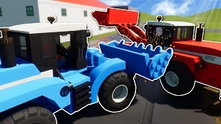 LEGO CITY LOADER RACE! - Brick Rigs Multiplayer Gameplay - Lego City Race
