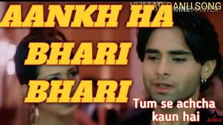 Aankh hai Bhari Bhari Full Video Song / Tum Sent Achcha Kaun Nai / Nakul Kapoor & Kim Sharma