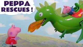 Peppa Pig English Episodes Toy Stories with Thomas & Friends Paw Patrol & Kinder Surprise Eggs TT4U
