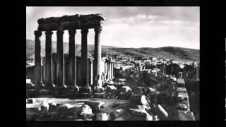 الأثار القديمة في البلاد العربية فلسطين, مصر, لبنان, العراق, الأردن ومكة