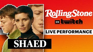 SHAED Performs Live On Stream