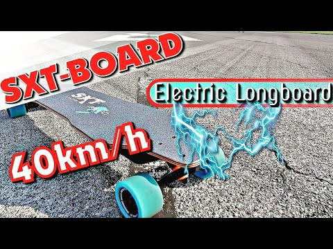 sxt elektro longboard 40km h schnell unter 700 euro