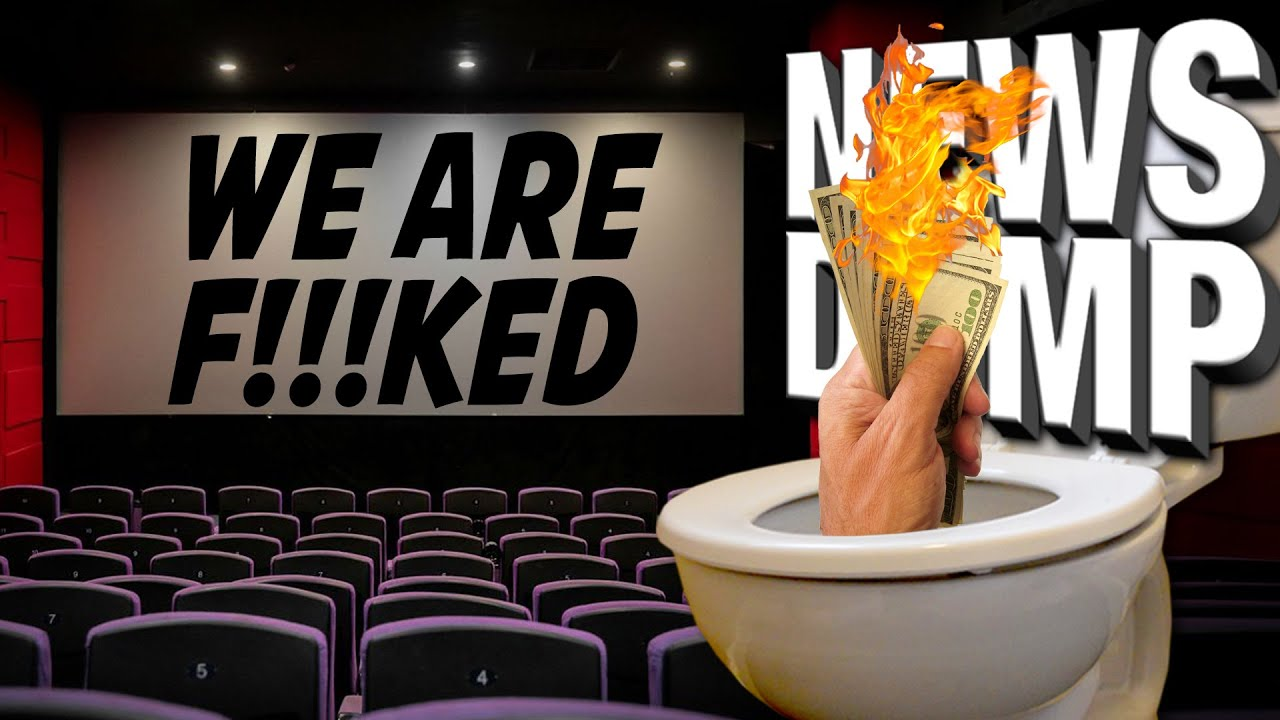 Are Movie Theaters Officially DOOMED?! - News Dump