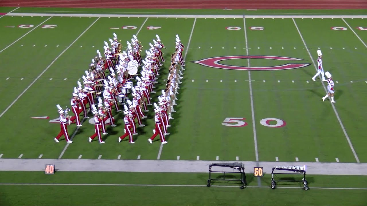 2020 UIL Region Marching Contest Performance