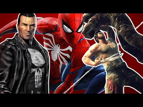 10 Best Marvel Superhero Video Games