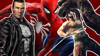 10 Best Marvel Superhero Video Games