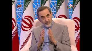 From youtube.com: Ali Akbar Velayati, a top foreign policy adviser to Iranian Supreme Leader Ayatollah Ali Khamenei {MID-294440}