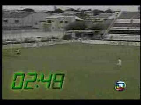 Fastest Goal in Brazilian Football! 3.17 sec