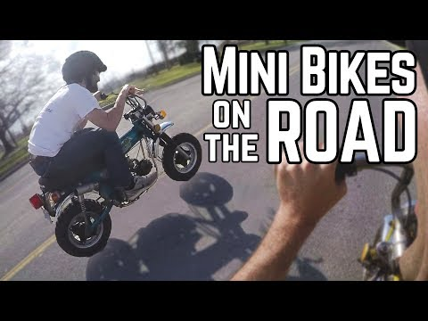 Road Legal Mini Bikes | First Ride in 30+ Years!