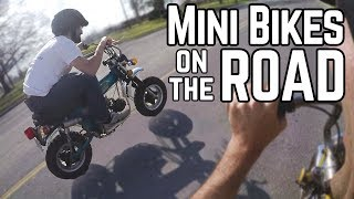 Road Legal Mini Bikes   First Ride in 30+ Years!
