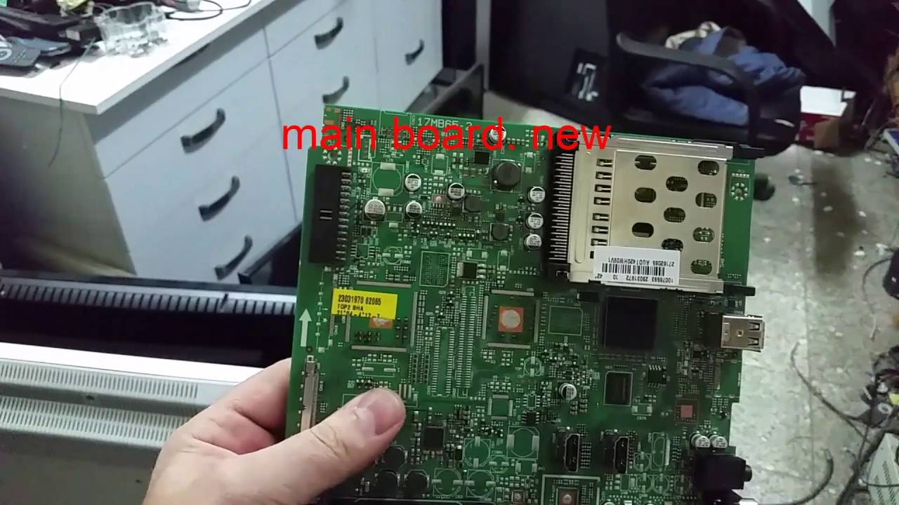 TELEFUNKEN TK42X917 LCD TV main board
