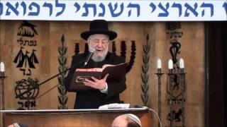 הרב ישראל מאיר לאו שליט''א - שלום בית כלל גדול בתורה