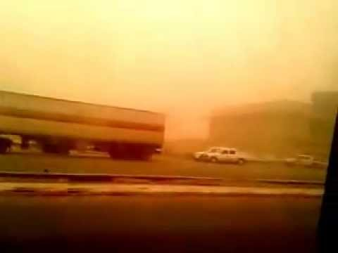 dusty weather in Jizan region