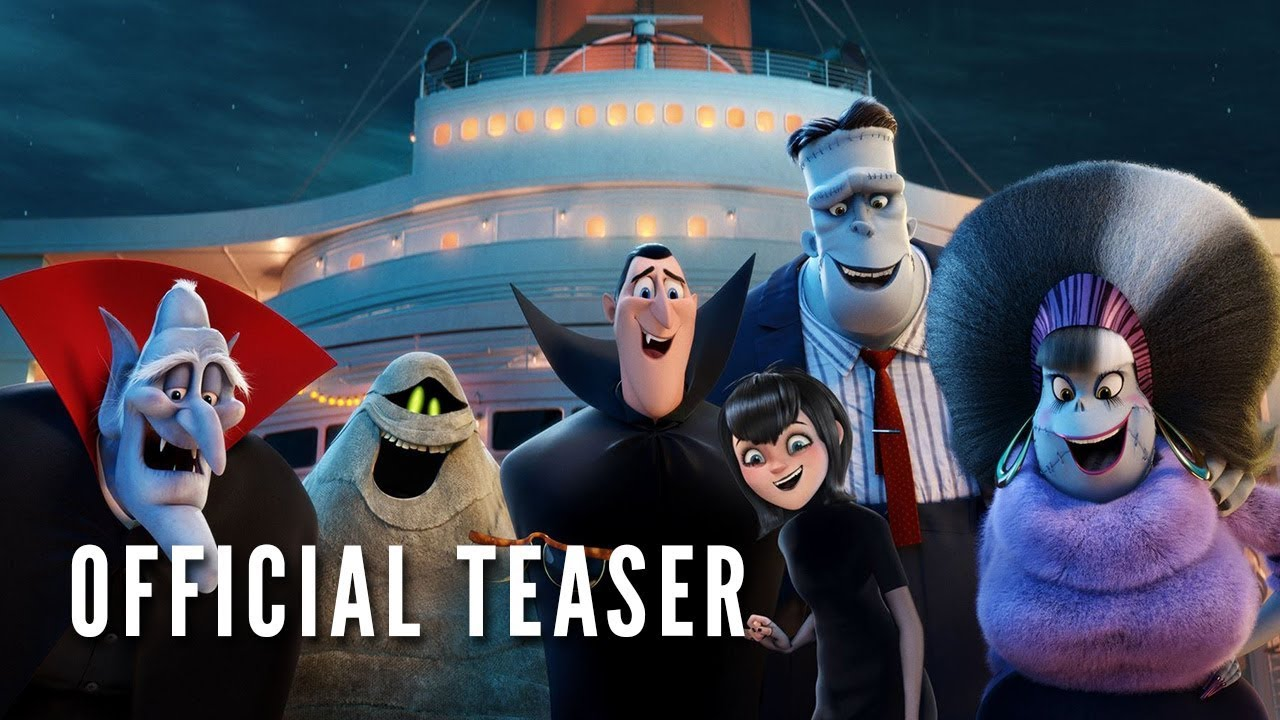 HOTEL TRANSYLVANIA 3: SUMMER VACATION - Official Teaser (HD)