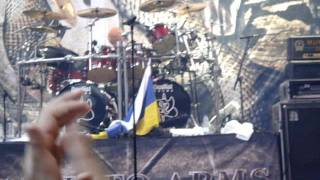 "SAXON - ""Nigel Glockler drumsolo"" , 30/07/11 La Cubierta (Madrid) *HQ AUDIO*"