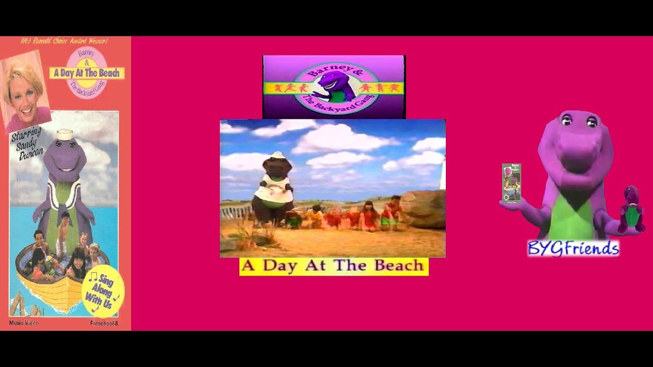 Barney & The Backyard Gang Episode 3: A Day at the Beach ...
