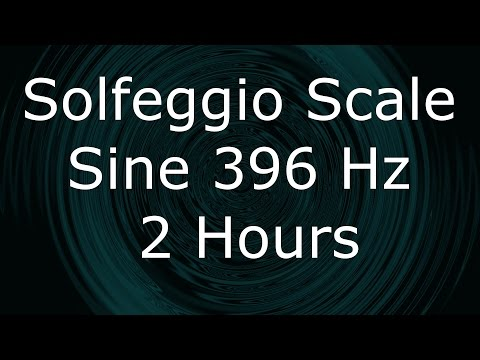 Meditation - Solfeggio Scale - Third Tone 396 hz