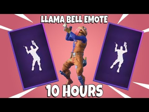 FORTNITE LLAMA BELL EMOTE WITH DURRBURGER 10 HOURS (Beef Boss)