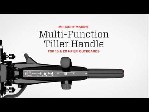 Multi-Function Tiller Handle for 15-20 HP Outboards