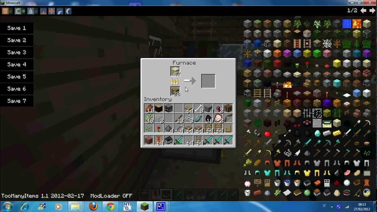 come creare il vetro su minecraft.avi - YouTube