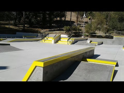 ANDY ANDERSON KILLS NEW BEST SKATE PARK IN LOS ANGELES !!! - NKA VIDS -