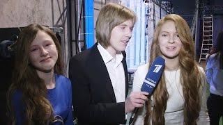 Ксения Бракунова и Христина Чихирева. Интервью после поединка - Поединки - Голос Дети - Сезон 2