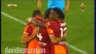 Napoli Vs. Galatasaray (3:1) All Goals and Highlights 29.07.2013 FRIENDLY