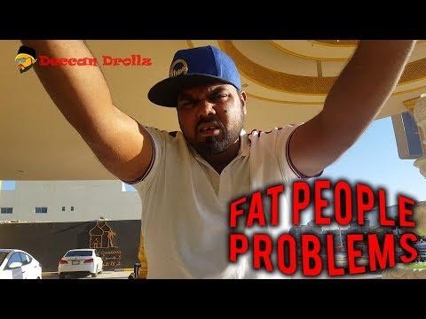 Fat people problems || Deccan Drollz || hyderabadi comedy