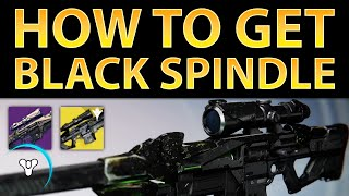 Destiny Taken King: How to Get Black Spindle (Exotic Sniper)