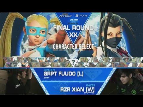 SFV: GRPT|Fuudo vs RZR|Xian - Final Round XX Grand Finals - CPT2017