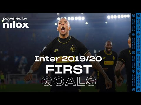FIRST INTER GOALS 2019/20 | Lukaku, Young, Alexis, Eriksen, Barella and more! ⚽⚫🔵🙌🏻 powered by NILOX