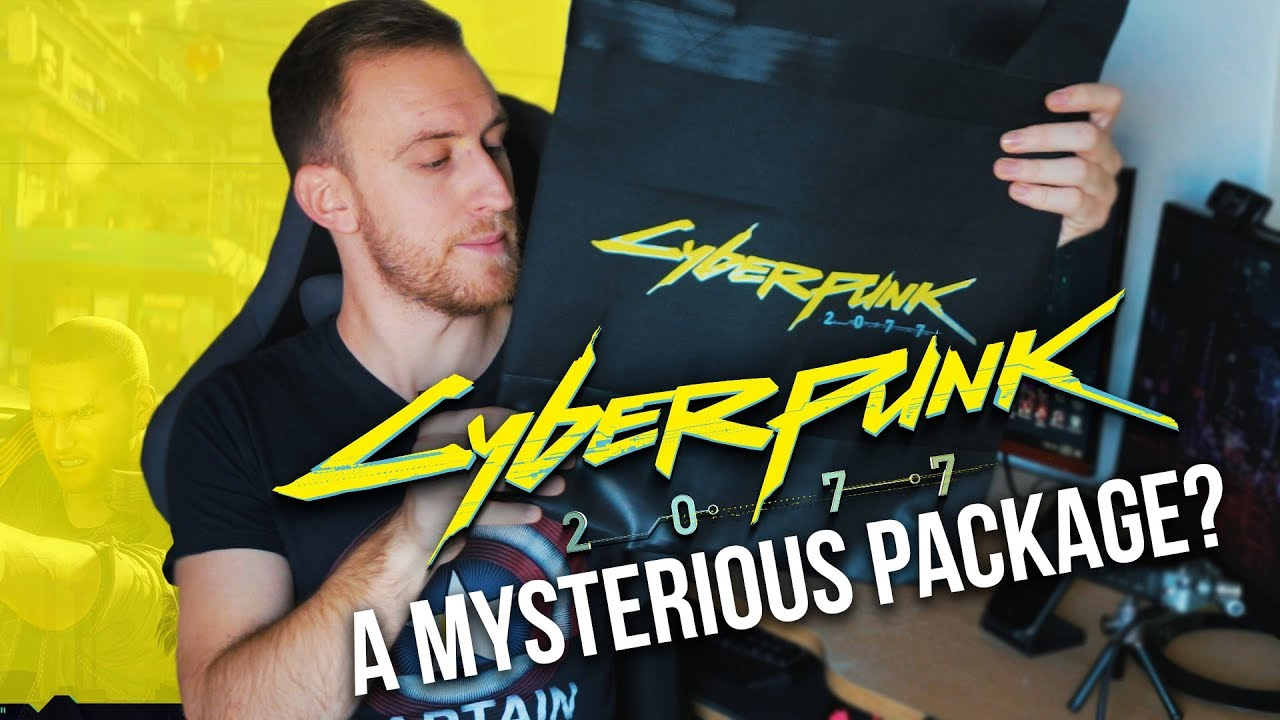 A Mysterious Cyberpunk 2077 Bag From CD Projekt RED thumbnail