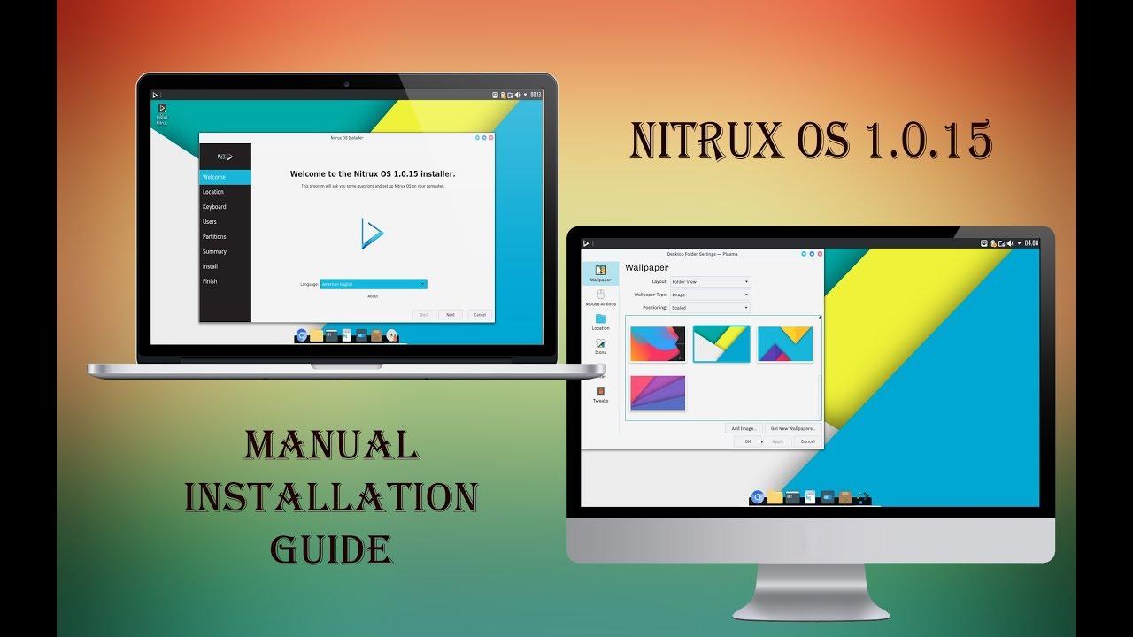 Nitrux Linux Ubuntu Nomad Desktop KDE Bootable USB Step By Step Creation Guide With Linux OS