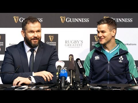 Andy Farrell & Johnny Sexton FULL Press Conference - Ireland Six Nations 2020 Launch