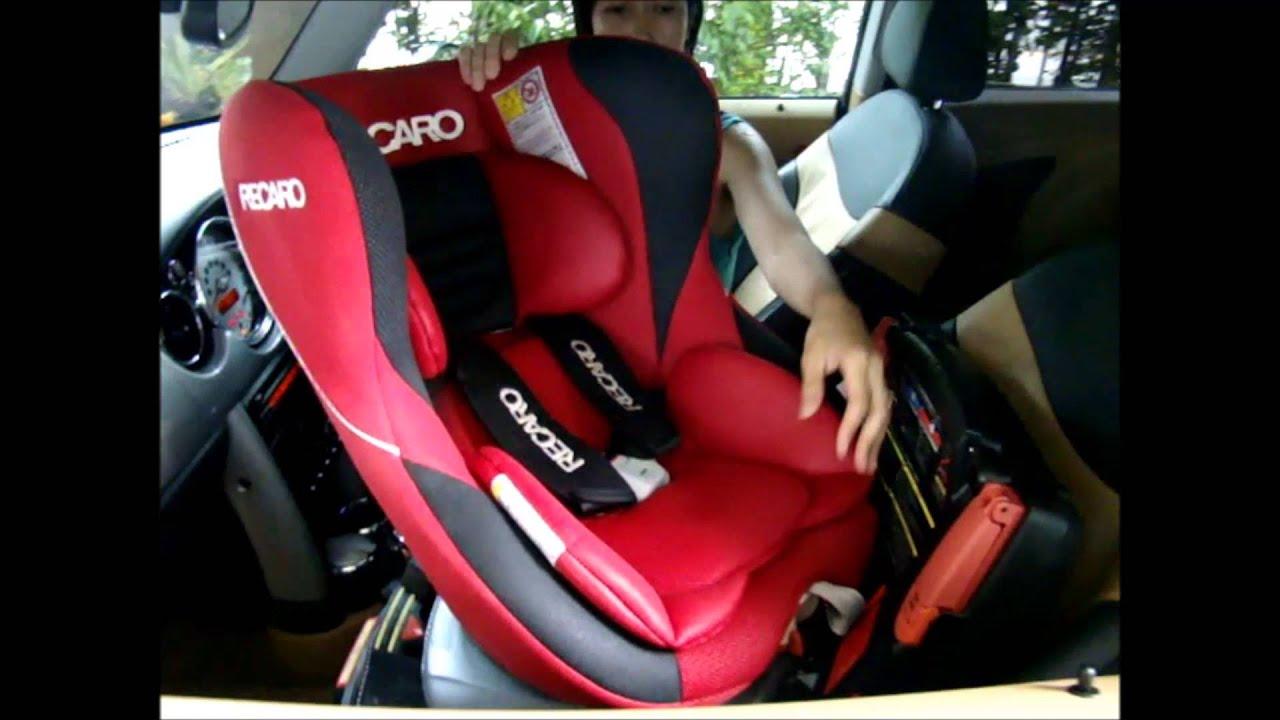 Car Seat Recaro >> CarSeat Recaro Start SR แดง - YouTube