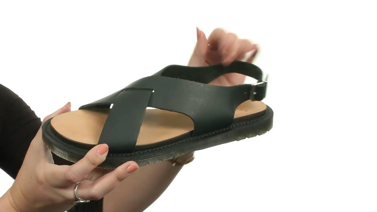 52daf9c5d42f Dr. Martens Abella Ankle Strap Sand SKU  8649147 - YouTube