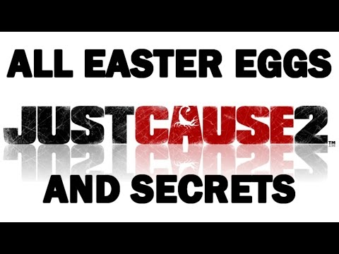 Just Cause 2 All Easter Eggs And Secrets HD